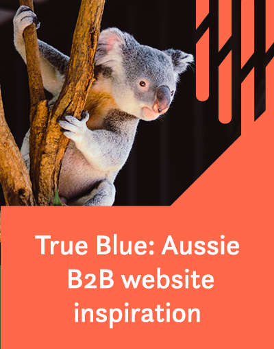 True Blue: Aussie B2B website inspiration