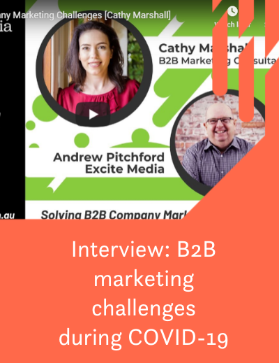 Solving B2B marketing challenges during COVID-19